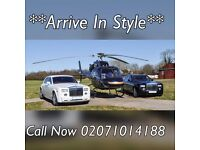 Rolls Royce Phantom Bentley Mercedes Range Rover Hire - Wedding Car Hire - Chauffeur Car Hire