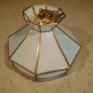 Stained Glass light fixture Kitchener / Waterloo Kitchener Area image 1