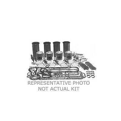 Ford Tractor 2n 8n 9n Engine Rebuild Kit 3 Ring Pistons Rings Valves Sleeves 2