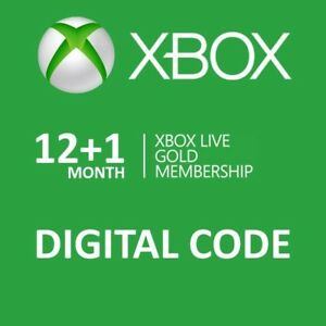 XBOX LIVE Gold Membership 12 months + 1 month free