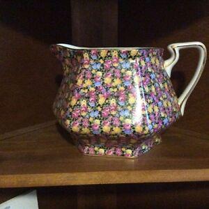 Large chintz pitcher vase. Royal Cotswolds.