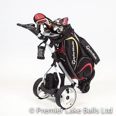 BRAND NEW PROFORCE ELECTRIC GOLF TROLLEY, £150 ADDED EXTRAS + BATTERY  CHARGER