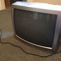 Free cathode ray TV