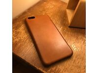 Saddle Brown Leather case Official IPhone 6s Plus / 6 plus