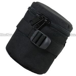 SAFROTTO Protector Padded Camera Lens Bag Case Cover Pouch E15 E-15 Black
