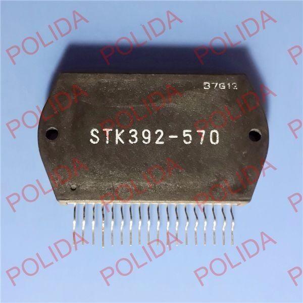 Купить 1PCS THICK FILM HYBRID MODULE IC SANYO SIP-18 STK392-570 STK-392-570