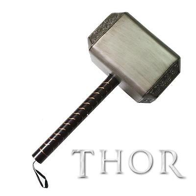 New 1:1 Scale Resin Made Thor Hammer Mjölnir Movie Prop From Marvel The Avengers