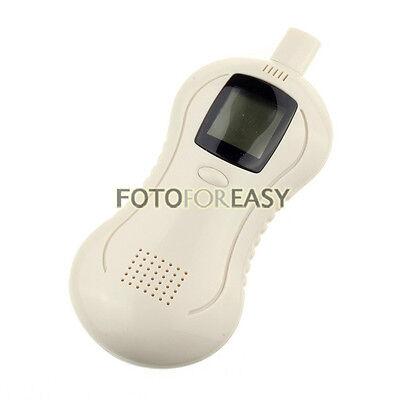 LCD Digital Breath Alcohol Tester Breathalyzer Analyzer Detector Calabash Shape