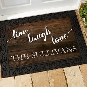 Personalized Door Mats- NL Shopaholics on Facebook St. John's Newfoundland image 1