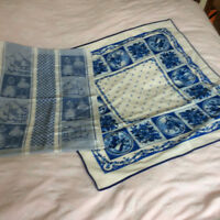 Dutch Delft Blue Tea Towel
