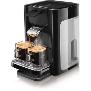 PHILIPS HD 7863/60 Senseo Quadrante klavierlack schwarz Kaffeepadmaschine