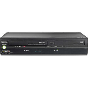 NEW TOSHIBA DVD/VCR COMBO RECORDER PLAYER DVD-R DVD-RW CD CD-R CD-RW