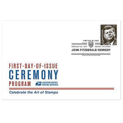 USPS New John F Kennedy Ceremony Program