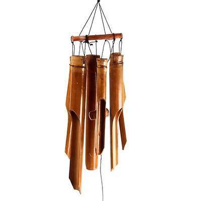 piccolo bambù carillon vento marrone feng shui molla estivo ... - Piccolo Giardino Feng Shui