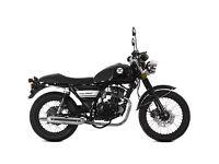 Lexmoto Valiant 125cc Learner Legal Motorcycle