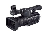 Sony HVR-Z1U professional camera as used by lots of TV companies - almost new Fantastic deal