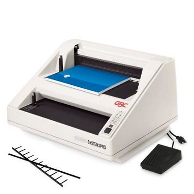 Gbc Velobind System 3 Pro Binding Machine Electric Punch And Bind