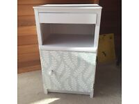 Bedside cabinet. Shabby chic Laura ashley