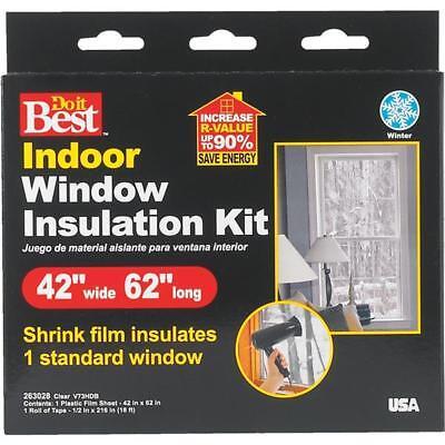 Thermwell Do it Best Heat Shrink Film Window Kit 42