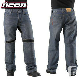 ICON VICTORY JEANS - SIZED LARGE PANTS