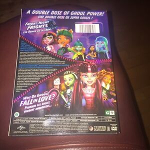 MONSTER HIGH Movies - 3 movies for $6.00 Gatineau Ottawa / Gatineau Area image 2