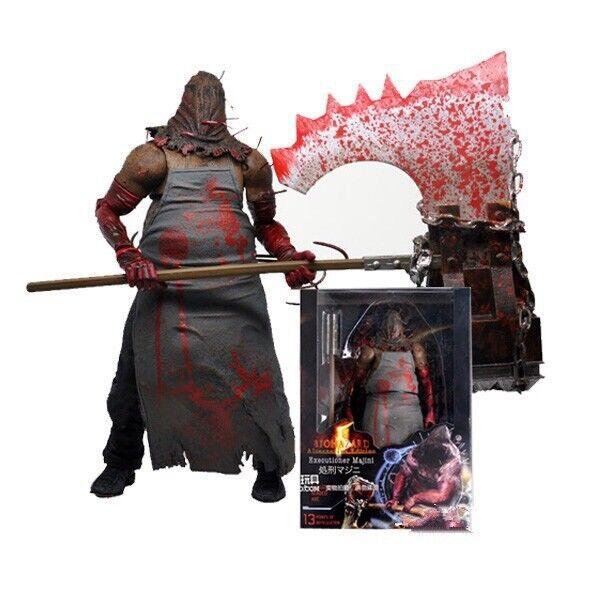 "NECA Resident Evil 5 Executioner Majini 7/"" Action Figure 1:12 Biohazard No Box"