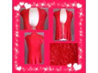 Hali women's pink cardigan one size