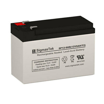 12V 9Ah Best Power Patriot II Pro 400 Replacement (Best 9v Rechargeable Battery)