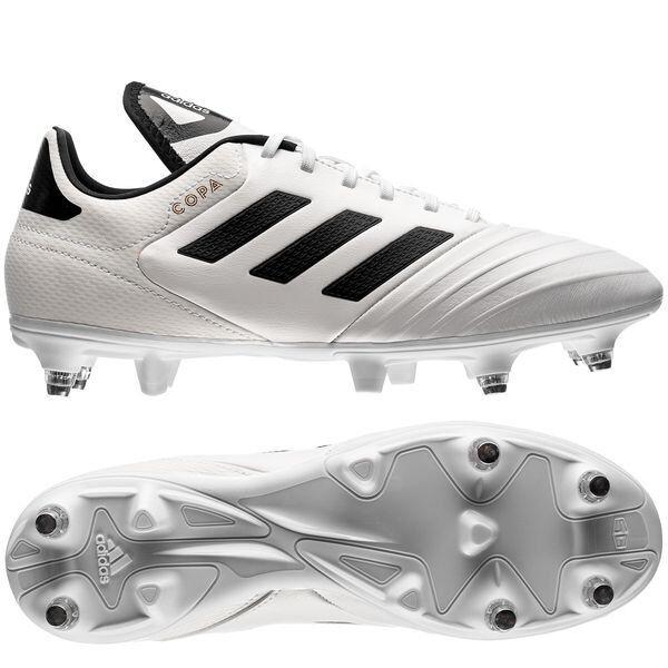 Scarpe da calcio Miste Adidas COPA 18.3 SG B22506 Bianco Nera