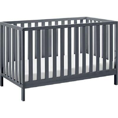 Convertible Baby Crib 4 in 1 Nursery Toddler Bed Full Furnit