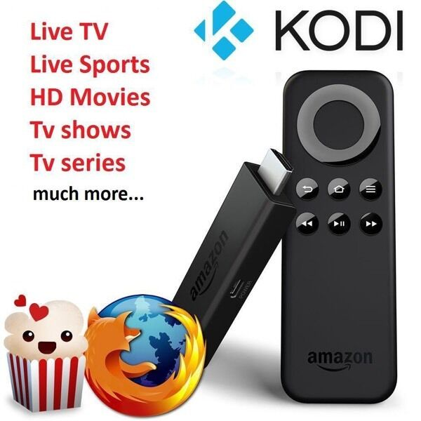 Amazon Fire stick kodi 16 1 android | in South Queensferry