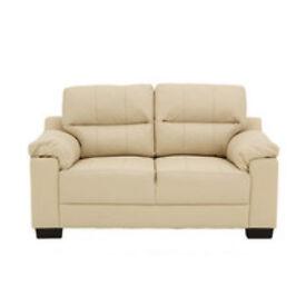 Saskia 2 Seater Sofa in Ivory.
