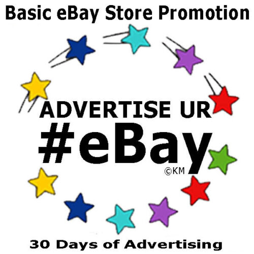 Promote eBay Store 30 DAYS Feature Social Media Advertise Listings Auctions