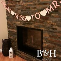 Wedding / Bachelorette / Shower / Thank You Banners & Signs