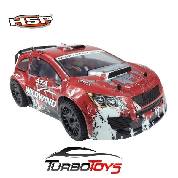 NEW - HSP RC 1/14 2.4GHZ 4WD OFF ROAD RALLY CAR 94348R - HOBBY - RTR -AUS SELLER