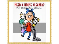 House cleaner looking for work