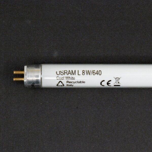 Osram L 8 W/640 EL Cool White 288mm G5 für Notstrom geeignet Leuchtstofflampe
