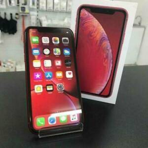 GOOD CONDITION IPHONE XR 64GB RED IN BOX AU MODEL UNLOCKED Carrara Gold Coast City Preview