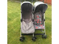 Mothercare double / twin buggy