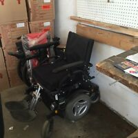 Wheelchair electric