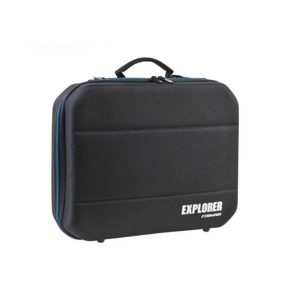 Explorer Hartschalenkoffer Case Laptoptasche mit Tragegurt