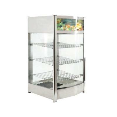 Fma Omcan 40000 Dw-cn-0097 Countertop Pizza Food Warmer Display Case 18