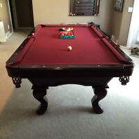 Guild 8 Foot Pool Table