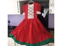 Red Highland Dancing Jig Dress