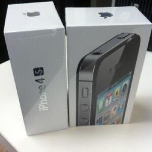Sealed in Box APPLE IPHONE 4S (UNLOCKED) BLACK / WHITE COLOR