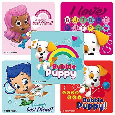 15 Bubble Guppies Puppy Pop Stickers Party Favor Teacher Supply](Bubble Guppies Stickers)