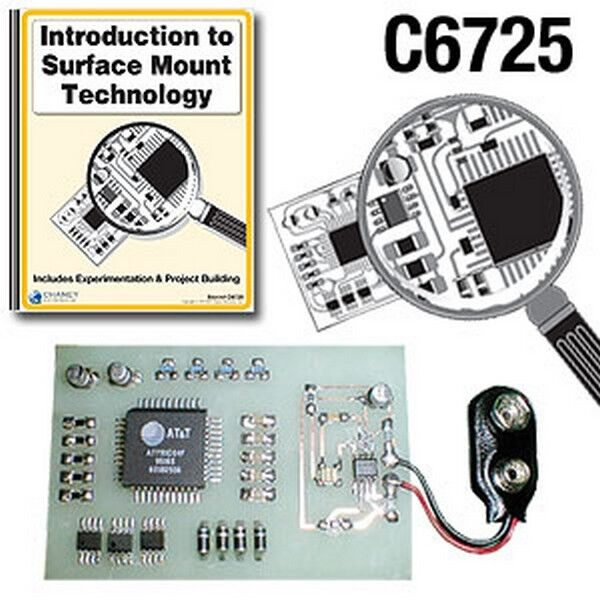 KITSUSA K-6725 INTRODUCTION TO SURFACE MOUNT TECHNOLOGY SOLDERING COURSE