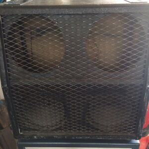 Empty Marshall 4x12 1960A Cabinet- used but complete