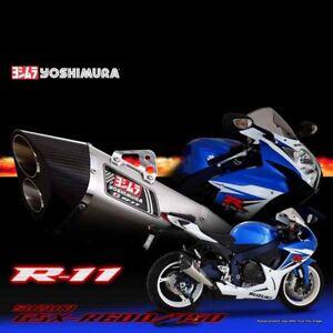 Yoshimura R08-14 Dual Suzuki Gsx-r 600 750