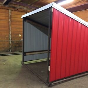 Horse shelters, calf shelters